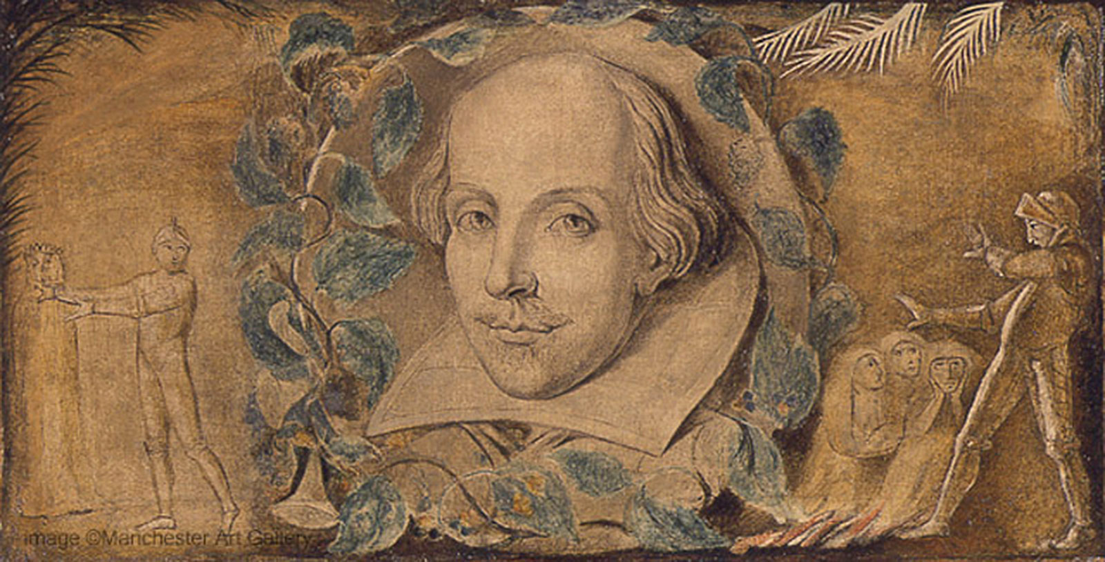 To be Shakespeare or not to be Cervantes