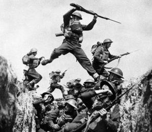 Moment din bătălia de pe Somme