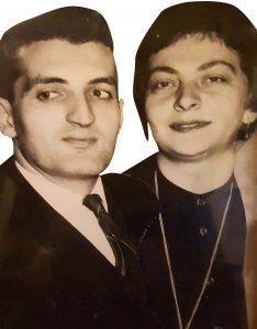 Alexandru Calciu - alături de soția sa, Zaira Samharadze - cam pe la vârsta când a tradus povestirea lui Marquez