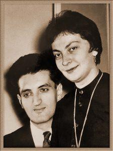Alexandru Calciu și Zaira Samharadze