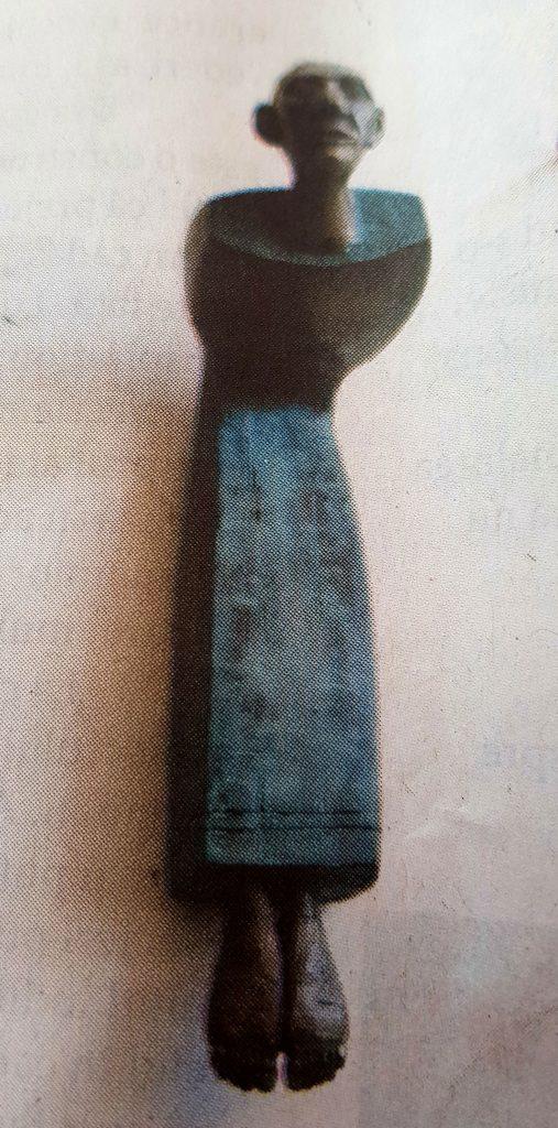 Mircea Roman, sculptură, preluată din revista Infinitezimal