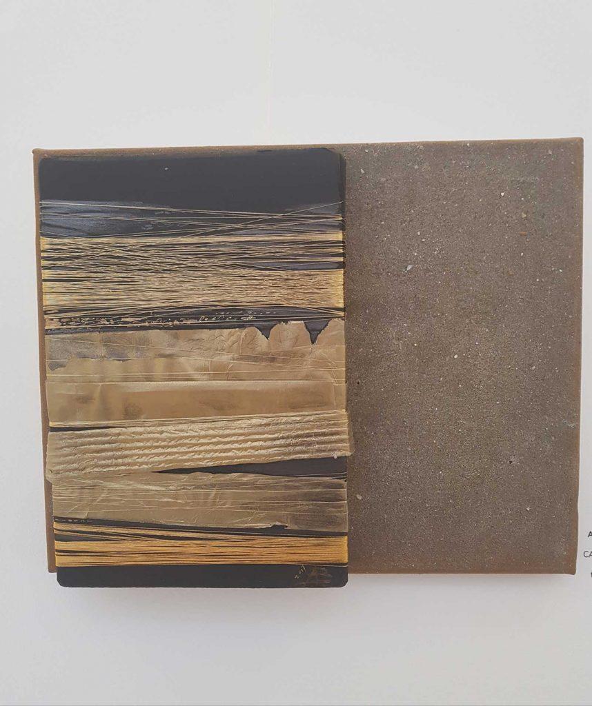 © Adriana Bădescu,Cartea faraonului, tehnică mixtă, 2017- MNLR, Bienală de carte bibliofilă și de carte obiect