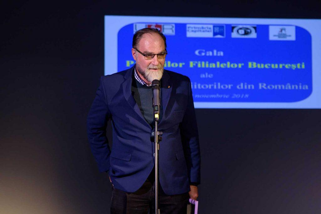 Președintele FITRALIT deschide ostilitățile premiile filialei București – Traduceri literare 2017 © foto Savu Mihuț