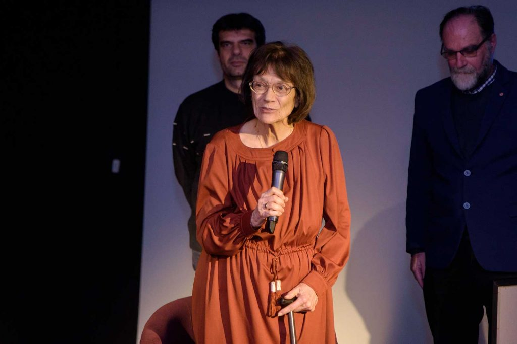 Micaela Ghitescu responsum la primirea premiului Opera Omnia © foto Savu Mihuț