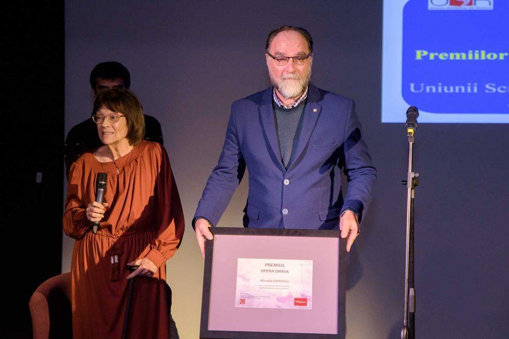 Premiul Opera Omnia pentru Micaela Ghițescu © foto Savu Mihuț