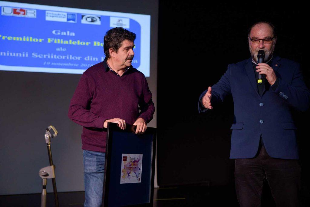 Înmânarea Premiului Special pentru traducere literară © foto Savu Mihuț