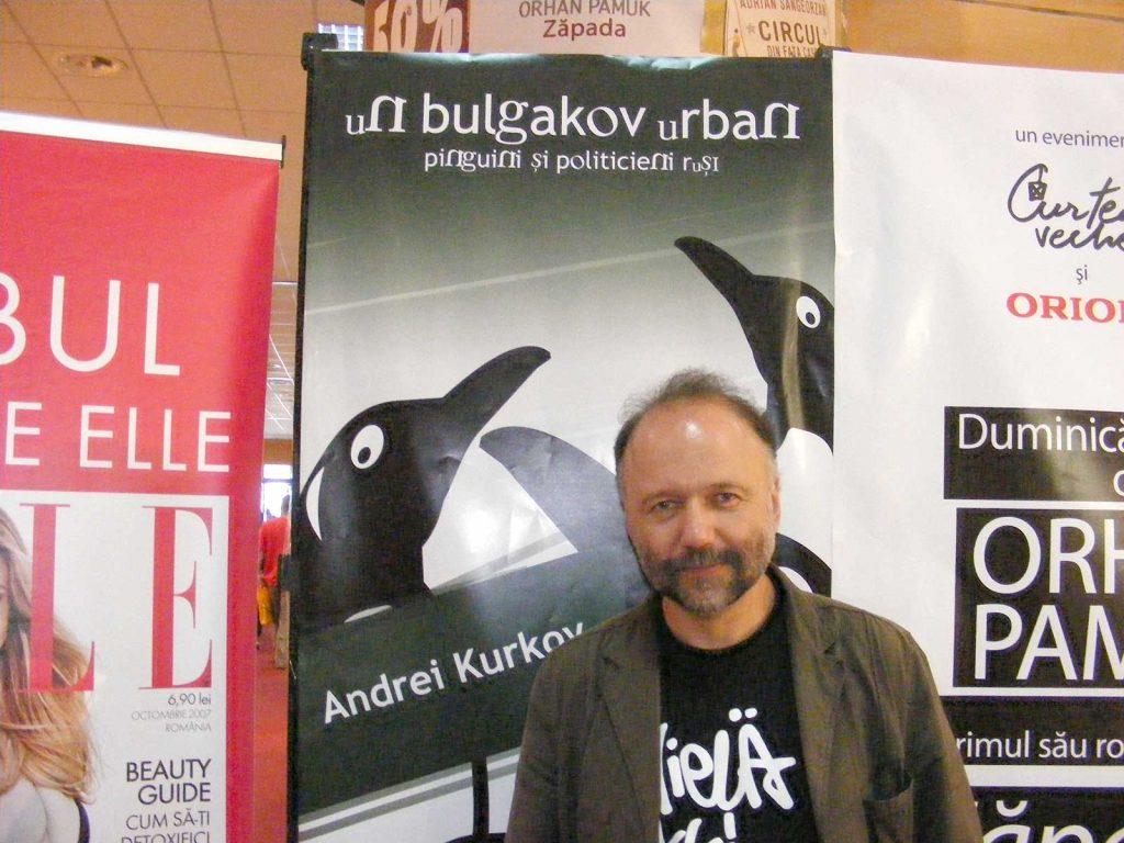 Andrey Kurkov © foto Antoaneta Olteanu