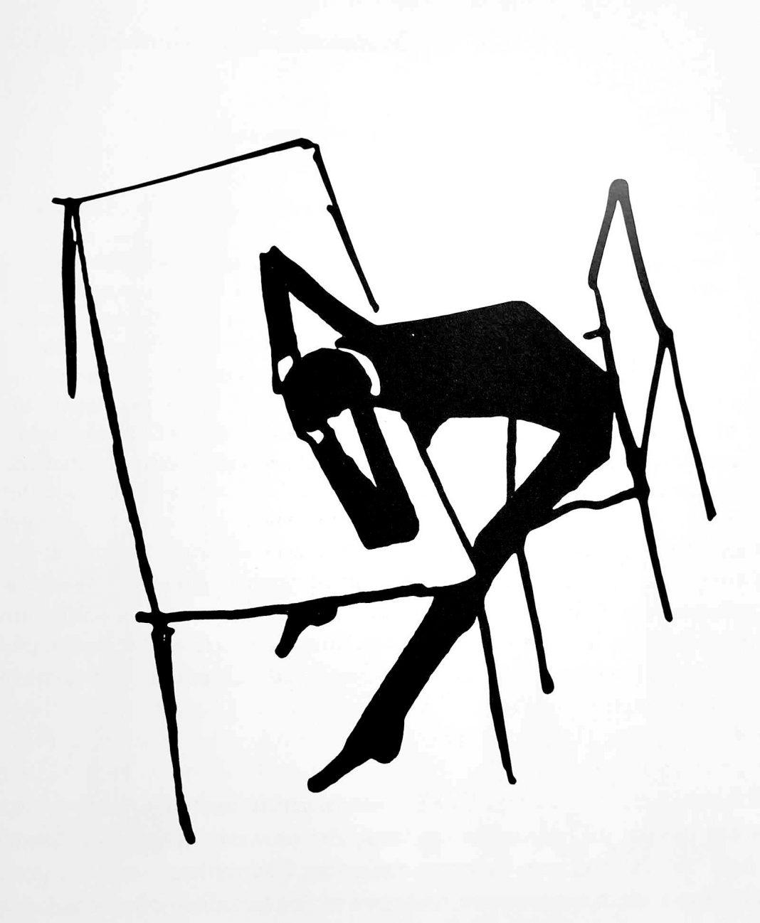 Franz Kafka - Bărbat cu capul pe masă