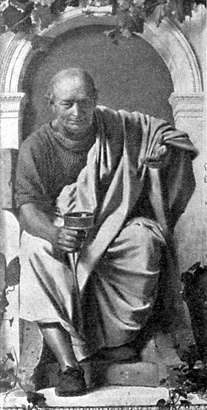 Quintus Horatius Flaccus, în limba română Horațiu, (n. 8 decembrie 65 î.Hr., Venosa; d. 27 noiembrie 8 î.Hr., Roma), Bibliothek des allgemeinen und praktischen Wissens. Bd. 5 (1905), Abriß der Weltliteratur, Seite 51.
