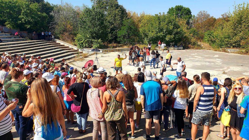 Foto 3 - Amfiteatru în paragină © foto Peter Sragher