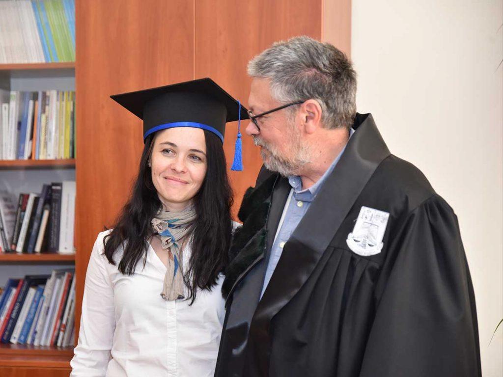 Soția lui Mihail Siskin primește ceva din onoarea titlului de Doctor honoris causa