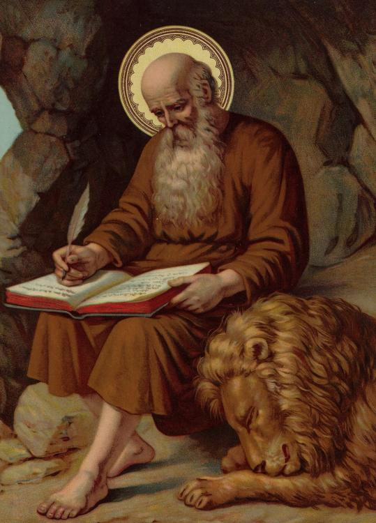 Sfântul Ieronim este considerat protectorul traducătorilor