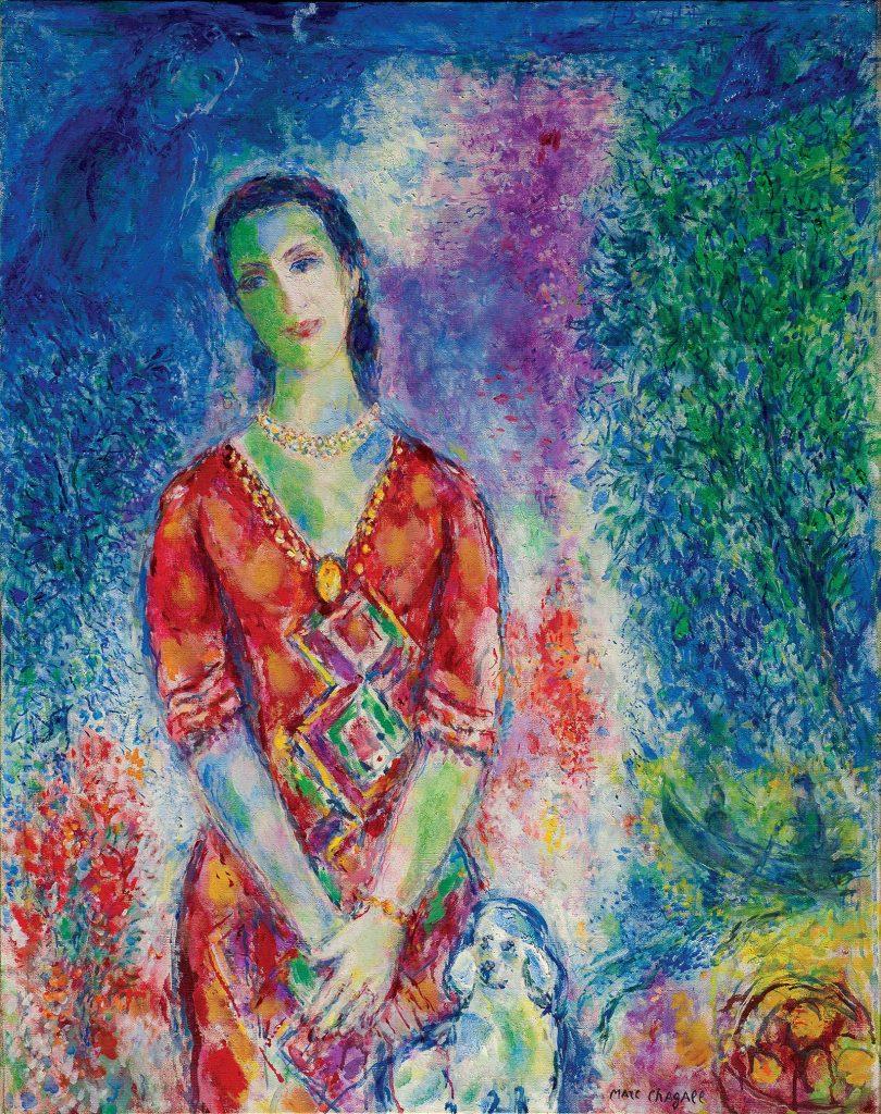Marc Chagall, Portretul lui E.B.G. © foto Basil & Elis Goulandris Foundation